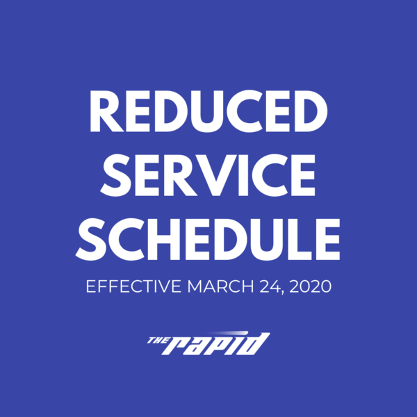 COVID-19 Reduced Service Schedule