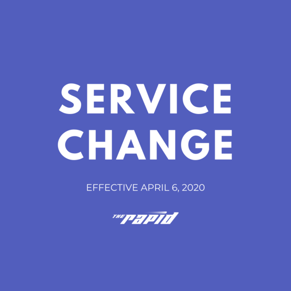 04.04.20 Service Change Graphic