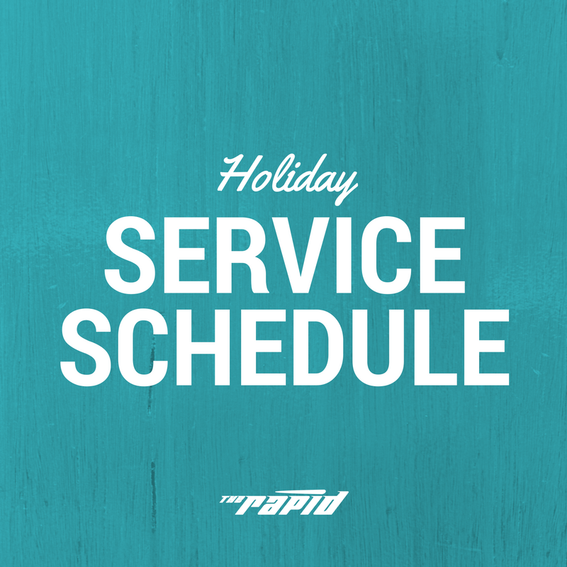 Holiday Service 2016