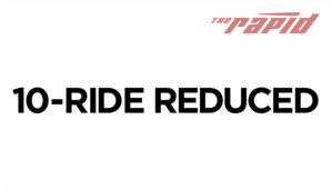 Reduced Fare 10-Ride Card