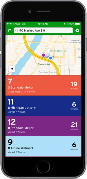 How to Ride - bus app